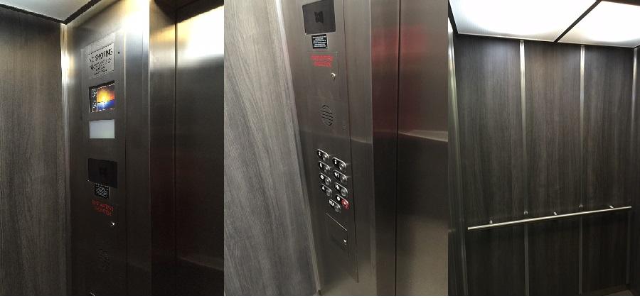 Elevator Cab Remodel Elevator Modernization Wall